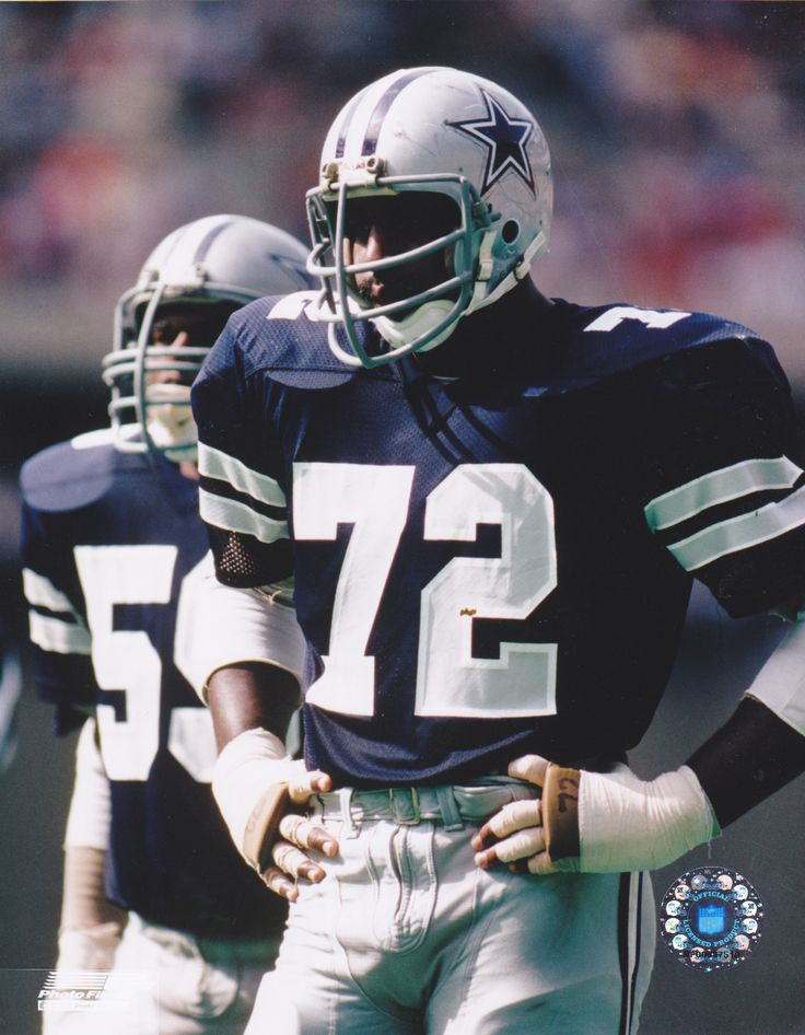 "Ed ""Too Tall"" Jones! That was before my Carolina Panthers existed and I was a die hard Dallas Cowboy fan back when I was a youngin'. He wore the same number I use to wear when I played football in college..."