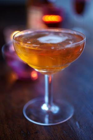 Charlotta Champagne cocktail- A perfect festive tipple With a dash of brandy and orange peel, this champagne cocktail has Christmas written all over it