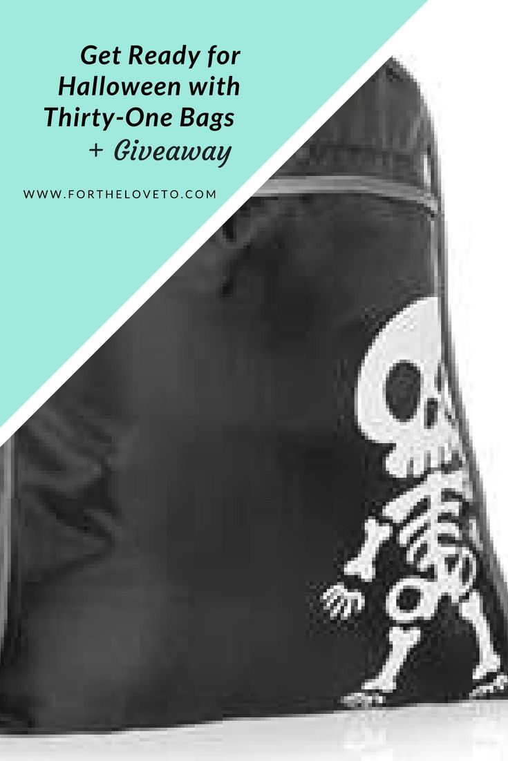 Get Ready for Halloween with Thirty-One Bags + GIVEAWAY  #ad