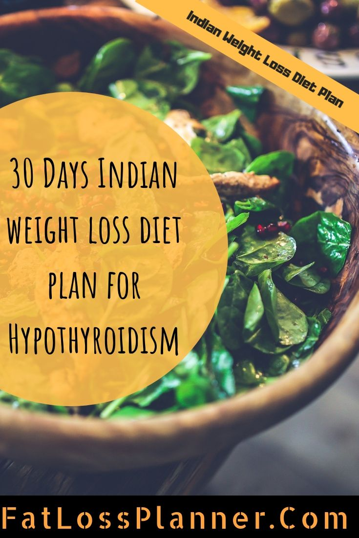 thyroid indian diet plan for weight loss