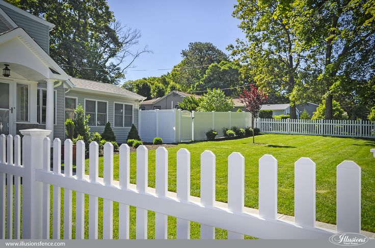 The American Dream Fence Shown Here Is Brought To You By