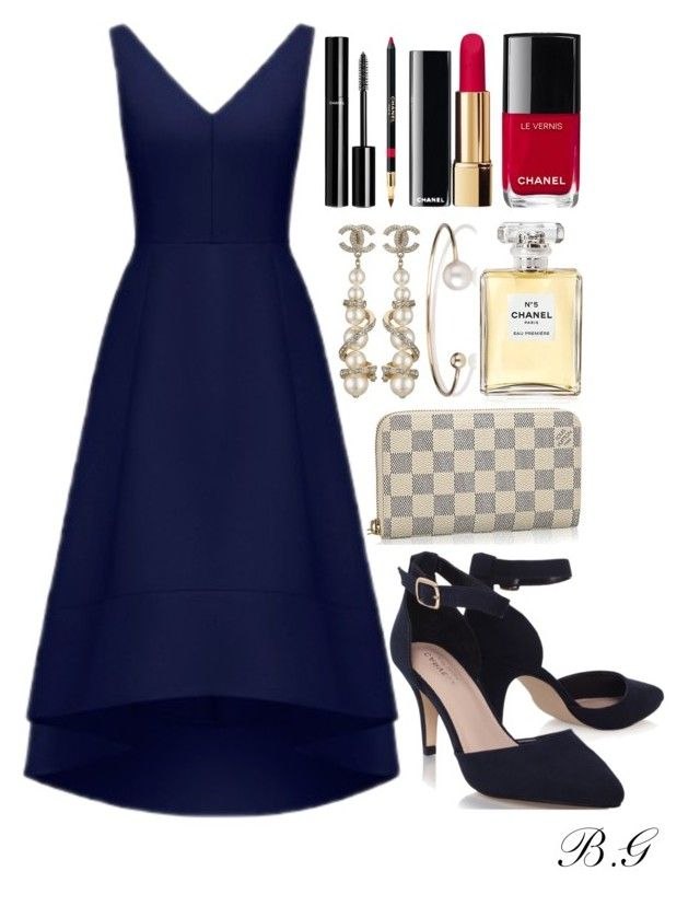 """""""Paris Dinner Cruise"""" by brookey-g on Polyvore featuring Forever New, Chanel and Letters By Zoe"""