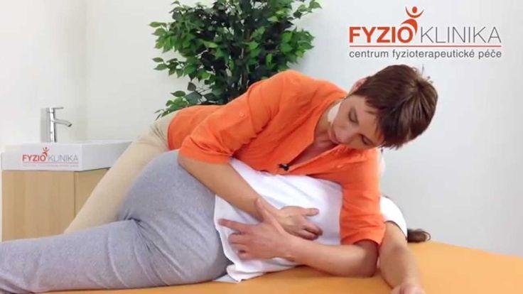 Zvýšení hybnosti (mobilizace) bederní páteře v ohnutí