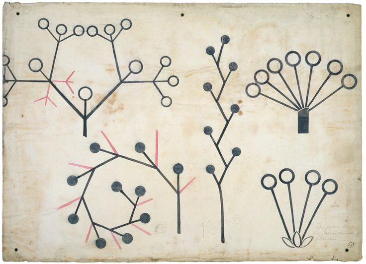 cinoh:  Christopher Dresser, Botanical lecture diagram, ca. 1855, V&A Dresser was an influential industrial designer and important member of the Aesthetic Movement. He also had an extensive background in botany, as evidenced by the designs above. Some of his designs are still in production through the firm Alessi. ~AR