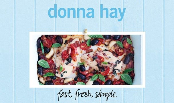 Baked Italian Chicken : Donna Hay Fast Fresh Simple : The Home Channel