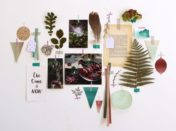giochi di carta: DIY: make a moodboard!