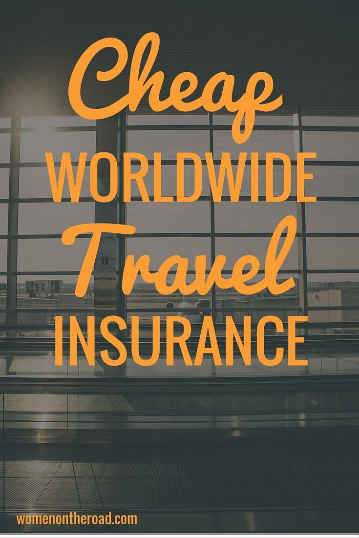 Cheap Worldwide Travel Insurance - Women on the Road