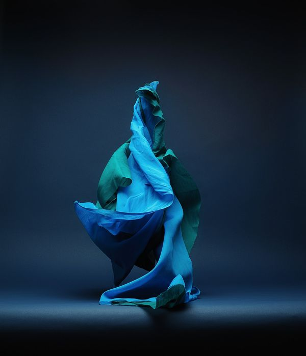 Fabric Forms by Neal Grundy, via Behance