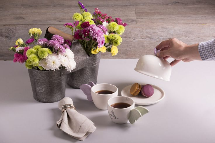 ¿Maridar con té? Planter Pots, Food Items