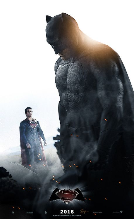 Ben Affleck as Batman and Henry Cavill as Superman - Zac Snyder's Batman V Superman: Dawn of Justice