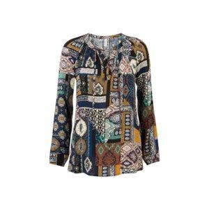 Blouse print blouse