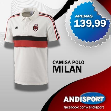 O Milan é um dos principais e mais bem sucedidos da Itália, e também, um melhores do mundo. Aproveite nossa promoção e saia por aí vestido como um campeão.