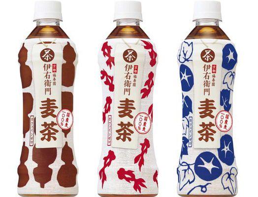 """伊右衛門 麦茶 """"日本の夏""""を感じるなつかしい味とデザイン"""