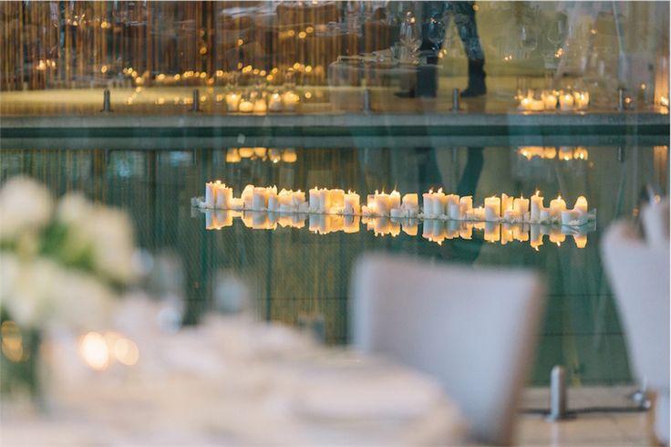 18 - floating candles | the prince st kilda wedding | circa wedding | styleanddiscourse.com