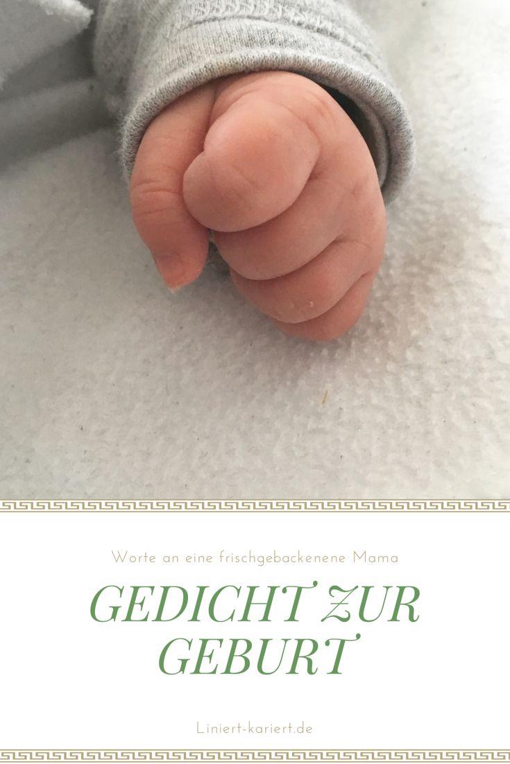 Ein Gedicht an eine frischgebackene Mama. Worte zur Geburt.