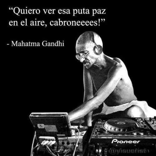 DJ Mahatma PEACE Gandhi