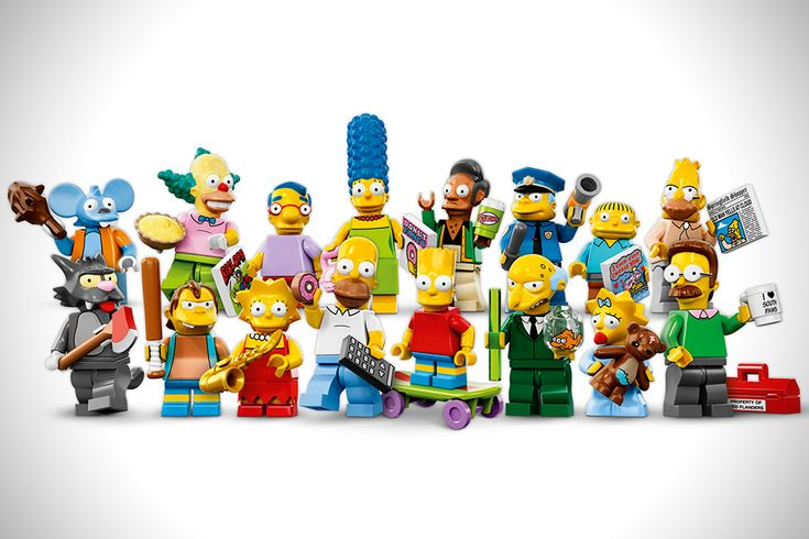LEGO Simpsons Minifigures 1