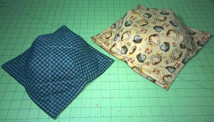 Microwave Cozy Med/Lrg Sizes, Reversible | Craftsy