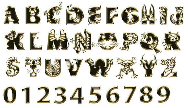Tube alphabets - (page 3) - .