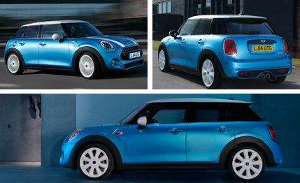 The two additional doors nick you for an additional $1000 over the basic Mini, with the base 2015 Cooper ...