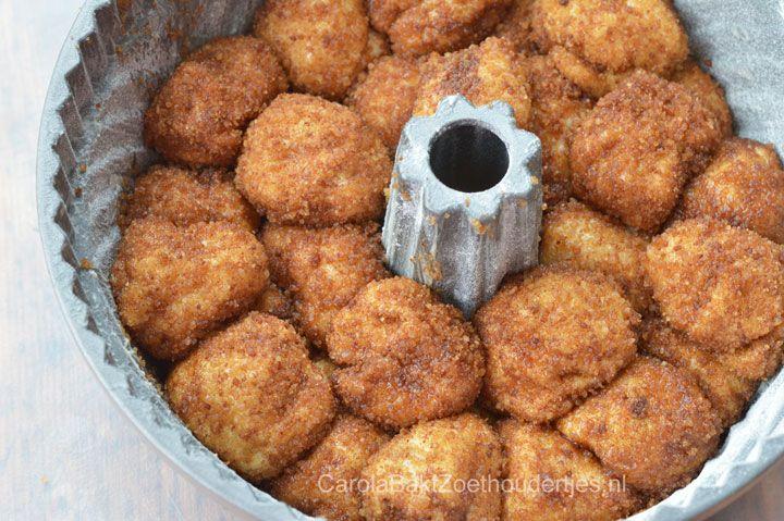 Monkey bread apenbrood; trek zo'n verrukkelijk luxe bolletjes uit het brood!