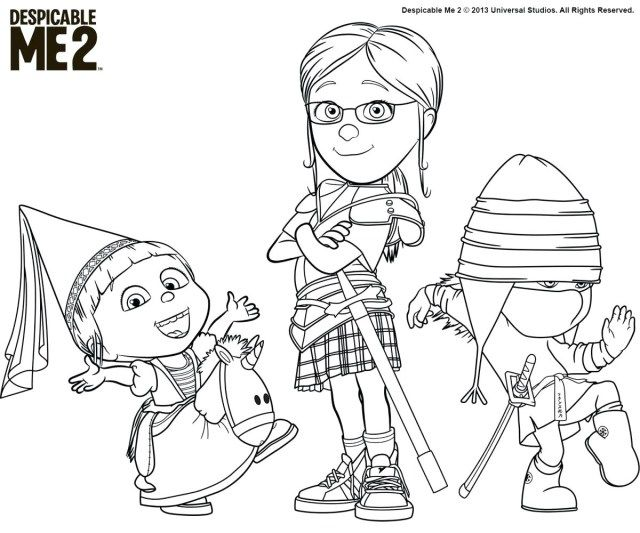 Creative Photo Of Despicable Me 3 Coloring Pages - Albanysinsanity.com  Minion Coloring Pages, Cartoon Coloring Pages, Unicorn Coloring Pages