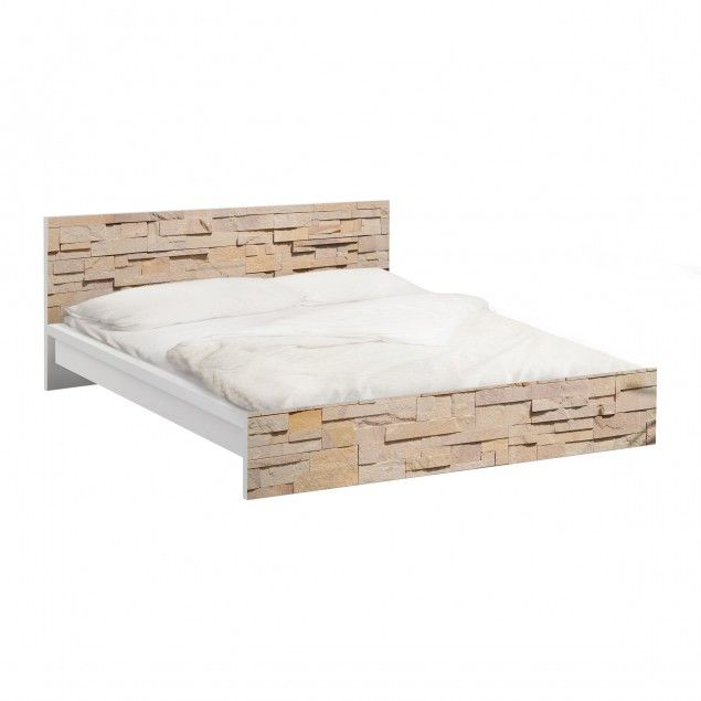 Möbelfolie Für IKEA Malm Bett Niedrig 140x200cm   Klebefolie No.YK18  #Baumstämme #IKEA #Möbel #Möbelfolie #Aufkleber #Malm | Pinterest | Ikea  Malm, Malm And ...