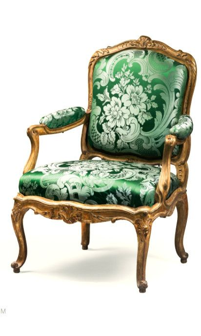 A pair of carved giltwood fauteuils à chassis by Philippe-Joseph Pluvinet, late Louis XV, circa 1755