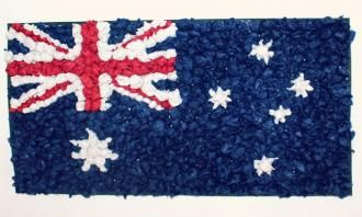 Inspire your child's artistic expression with this colourful art and craft project. Making an Australian Flag Collage is a kids activity that everyone can enjoy.