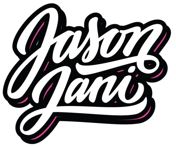 Jason Jani - DJ logo design More