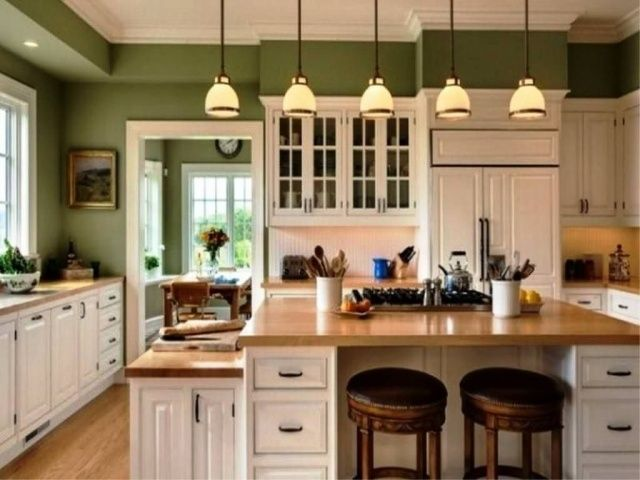Kitchen Paint Color Ideas With Cream Cabinets In 2020 Kitchen Room Color Modern Kitchen Colours Best Kitchen Colors