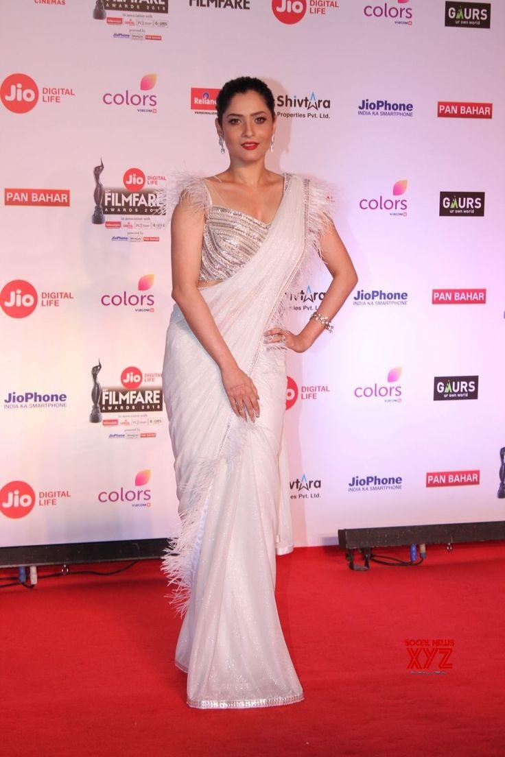 """Mumbai: """"63rd Jio Filmfare Awards""""  Akshara Haasan, Ankita Lokhande - Social News XYZ"""