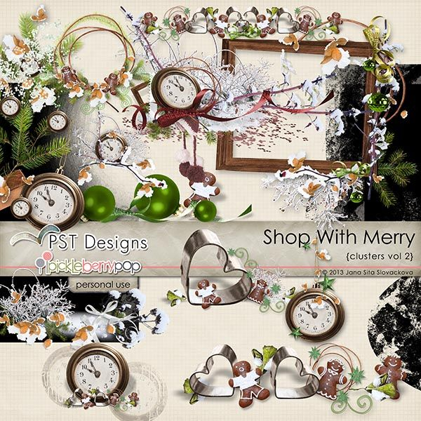 Shop With Merry clusters 2 @Pickleberrypop @PST Designs