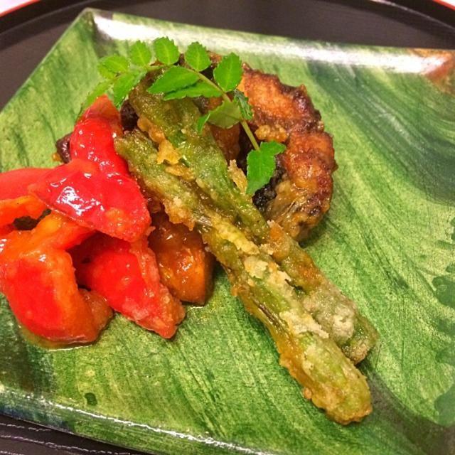 鯖も南蛮漬けにすると美味しいですね。 - 7件のもぐもぐ - 鯖と野菜のカレー南蛮漬け by keikotaya9CFj