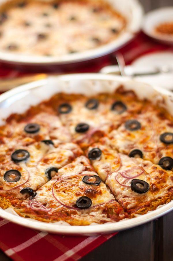 Pizza with Potato Quinoa Crust - Cooking Quinoa
