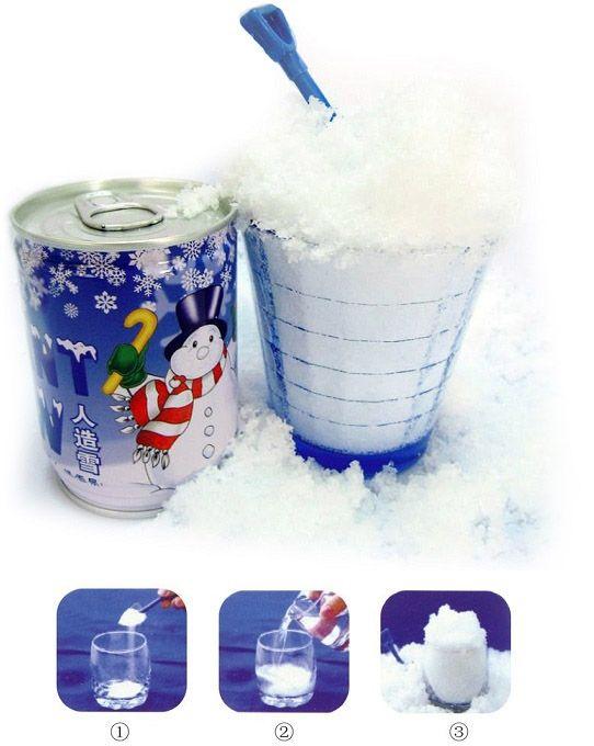 Dobozos instant hó, hogy mindenképpen legyen fehér a Karácsony! Igazi téli hangulatot szeretnél, akkor csak tölts hozzá vizet és várd meg, amíg magába...