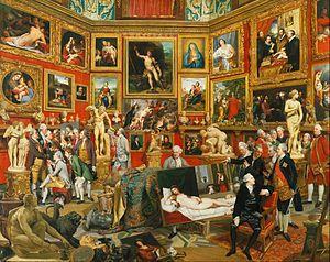 Johan Zoffany - Tribuna of the Uffizi - Google Art Project - Johan Zoffany - Wikipedia, the free encyclopedia