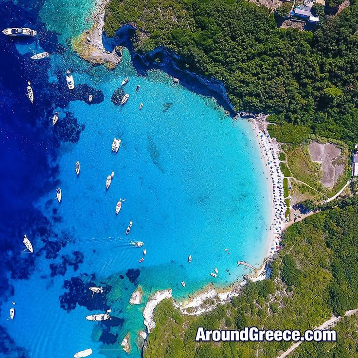 The beautiful small island of Antipaxos - one of the jewels of the Ionian Sea  #Antipaxos #Greece #Greekislands #Ionian #travel #holidays #blue #vacations #turquoise #aroundgreece #visitgreece #Ελλαδα #ΕλληνικαΝησια #διακοπες #ταξιδια