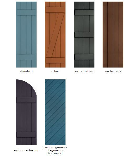 17 best ideas about exterior shutters on pinterest wood shutters window shutters and rustic - Types shutters consider windows ...