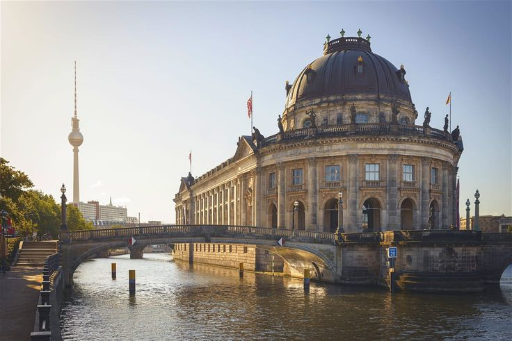 Museum Island On Spree River And Alexanderplatz Tv Tower In Center Of Berlin Lonely Planet Best Places To Live Museum Island