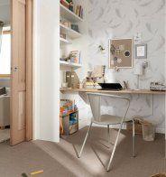 Optez pour une planche en guise de bureau - Marie Claire Maison