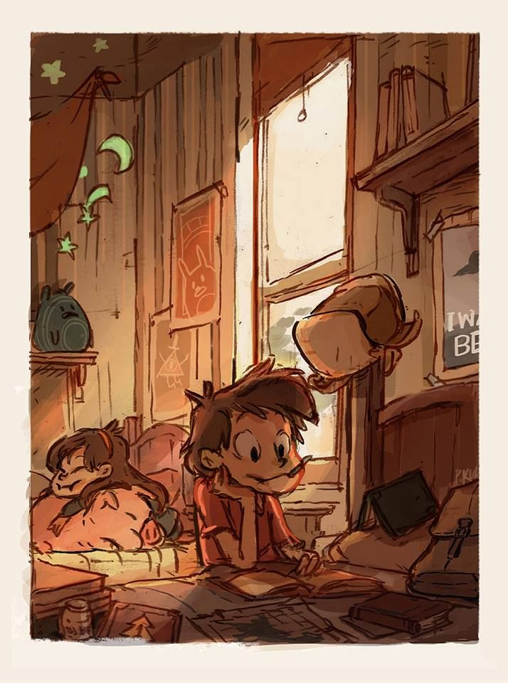 Back Home. Gravity Falls.