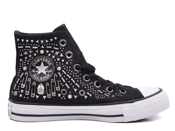 All Star gorgeous rock three-dimensional offset printing high canvas sneakers CS542442 #converse #shoes