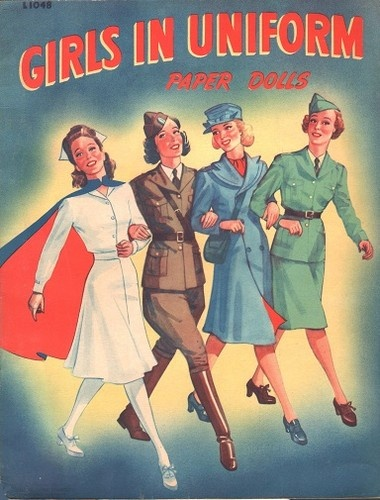 Girls in Uniform 1942 Uncut Original Book | eBay