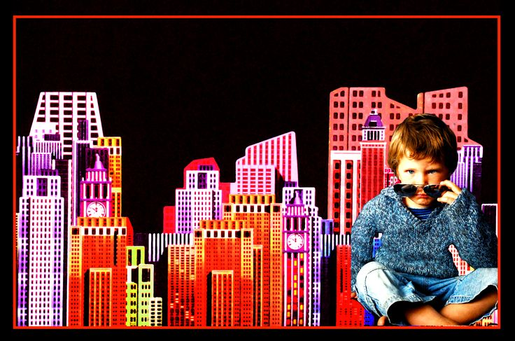 Cool Maddox in the big city, from PT´s Foto Fun