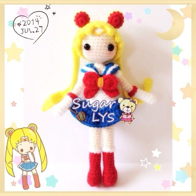 Amigurumi Sailor Moon : 1000+ images about amigurumi on Pinterest Patrones ...