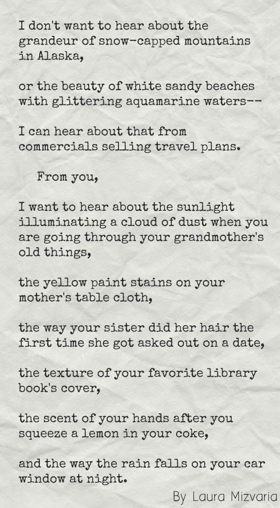 To Writers and Poets