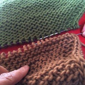 Le grafting sur point mousse Le grafting, c'est quoi? Le grafting est une technique d'assemblage à l'aiguille, sur des mailles non tricotées, qui aboutit à une finition parfaite. Cela consiste à faire passer le fil entre les mailles, de manière à construire un nouveau rang intermédiaire intégré au tricot. C'est la technique idéale pour joindre les deux extrémités d'un snood tricoté à plat sans qu'on puisse d...>