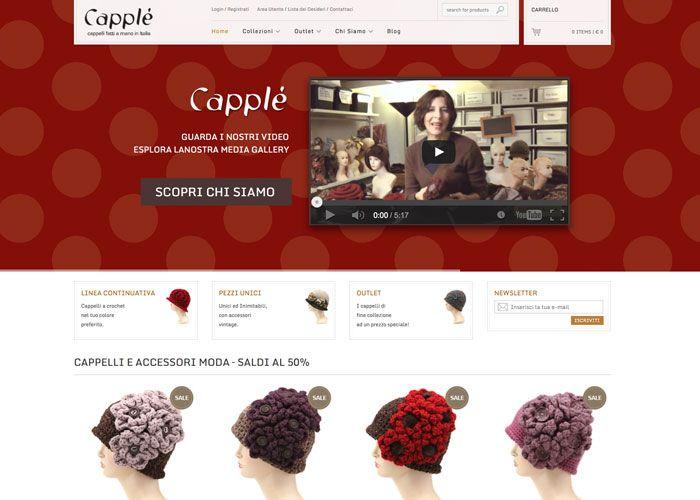Capplè   crochet hats handmade in Italy
