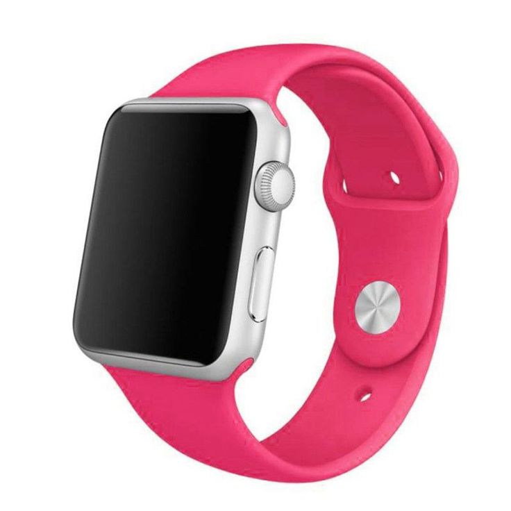 Worldwide Free Shipping. Materal : Silicone Size : 38mm , 42mm Made from a custom high-performance fluoroelastomer, the Sport Band is durable and strong, yet surprisingly soft. The smooth, dense mater